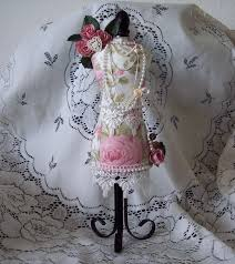 Cushions Shabby Chic by Shabby Chic Altered Pin Cushion Mannequin Scrapbook Com Dress
