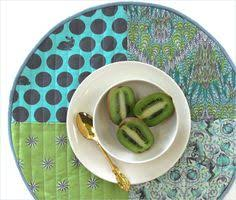 quilted placemats for round tables sewing circular quilted placemats tutorial tutorials board and easy