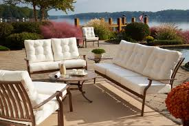 Outdoor Sofa Sets by How To Choose The Best Material For Outdoor Furniture