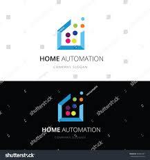 Home Automation Logo Design Home Logohome Automation Logoapplication Logovector Logo Stock