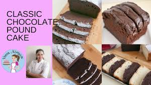 classic chocolate pound cake recipe baking basics chocolate