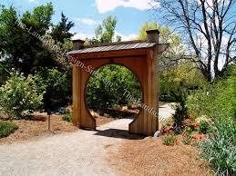 Garden Arch Plans by Garden Entryways