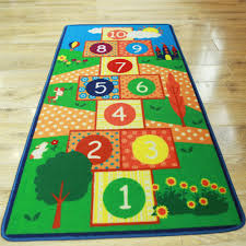 aliexpress com buy yazi children hopscotch game rug living room