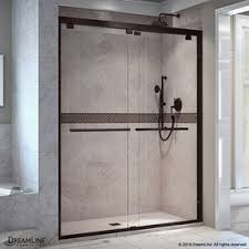 Frameless Frosted Glass Shower Doors by Shop Shower Doors At Lowes Com
