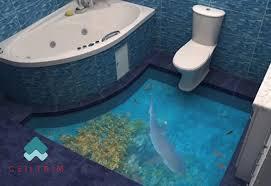 modern 3d bathroom floors design home interior and design realie