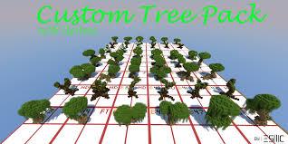 minecraft custom tree pack 40 trees update 0 2 minecraft
