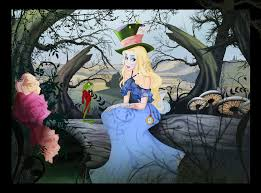 flowers alice wonderland zerochan anime image board