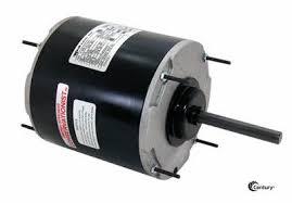 48y frame fan motor century 668a condenser fan motor 3 4hp 1075rpm 208 230v 1ph 48y