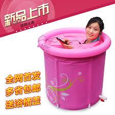 si e baignoire adulte taille 70 65 cm avec pompe la nouvelle gonflable baignoire