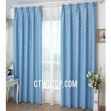 Baby Blue Curtains Funky Cheap Room Blackout Baby Blue And Silver Curtains
