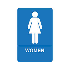 Mens And Womens Bathroom Signs Palmer Fixture Restroom Signs