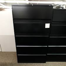 Hon 36 Lateral File Cabinet Used Hon 5 Drawer 36 Lateral File Cabinet Black Fil1507 005