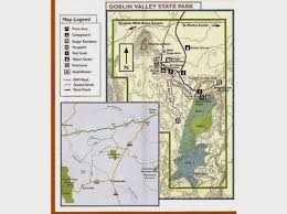Utah State Parks Map by The Southwest Through Wide Brown Eyes Goblin Valley State Park