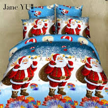 Santa Duvet Cover Compare Prices On Christmas Bedspreads Online Shopping Buy Low
