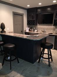 Espresso Cabinet Kitchen Bianco Antico Granite Countertops With Espresso Cabinets And Grey