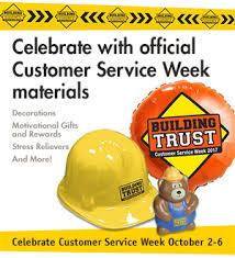 customer service week bulletins