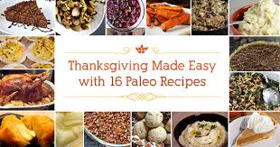 paleo thanksgiving made easy with 16 recipe swaps