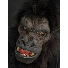 Gorilla Mask Halloween by Monkey Costumes