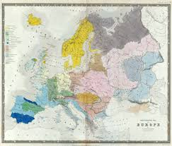 Historical Maps Of Europe by Qualitative Thematic Maps2