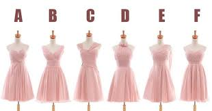 different wedding dress shapes different bridesmaid dresses same color unique wedding ideas