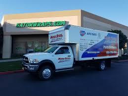 scion cube truck ram 5500 box truck moss bros gator wraps