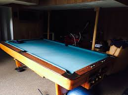 brunswick used pool tables brunswick billiards 9 gold crown lll pool table delivered installed