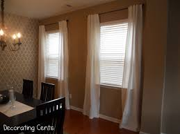 dining room curtains fresh on new curtain trim drapery panels