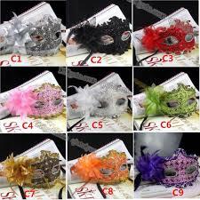 bulk masquerade masks lace diamond mask handmade venetian leather rhinestone flower