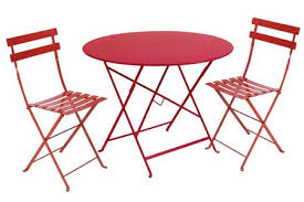 Metal Folding Bistro Chairs Fermob Bistro High Stool Colourful Steel Design For The Patio 301