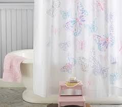 bathroom decor little u0027s pink blue purple gray butterfly