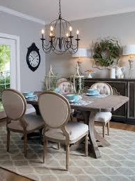Dining Room In French Romantic Dining Room In French With Oval Dinning Table Plus Brown