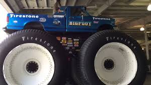 bigfoot monster truck youtube bigfoot 5 entering international monster truck museum and hall of