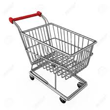 Cart 3d Illustration Of A Shopping Cart Stock Photo Picture And