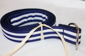 blue and white striped ribbon kids navy and white belt navy and white striped ribbon preppy