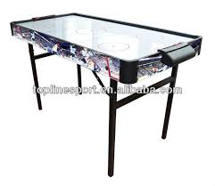 foldable air hockey table 4ft folding metal leg air hockey table t14805 buy air hockey table