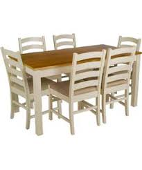 Pine Dining Chair Olney Pine Dining Table And 6 Upholstered Chairs 297 49