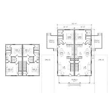 duplex floor plans for narrow lots modern house plans for duplex design indian style designs