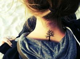 25 beautiful back of neck tattoo ideas on pinterest small
