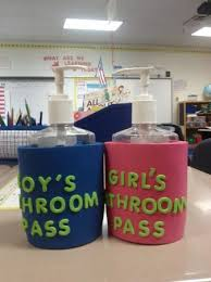 bathroom pass ideas organizing the classroom a dozen easy tips my creative