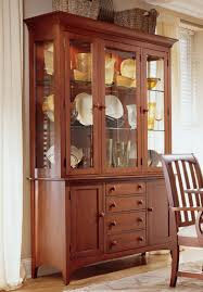 solid oak china cabinet solid wood china cabinet by kincaid home gallery stores