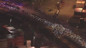 monster truck show oakland photos dozens arrested at large sideshow in oakland abc7news com
