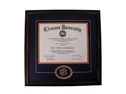 clemson diploma frame products page 10 clemsonframeshop
