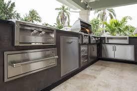 alfresco kitchen designs alfresco l shape outdoor kitchen appliance package luxapatio