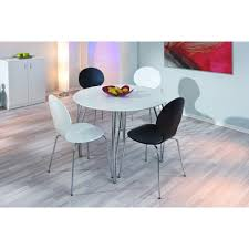 table ronde avec chaise table de salle a manger design avec avec