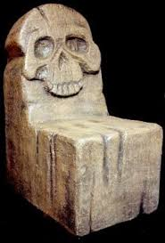 Wooden Skull Chair Sweet Skulls For Those With A Taste For Terror The Skull Chair