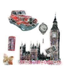 fabrilla 5d london theme wall sticker buy fabrilla 5d london fabrilla 5d london theme wall sticker