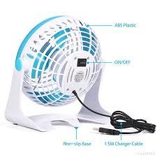 pc bureau silencieux ventilateur usb externe de bureau portable daffodil ufn140