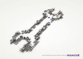 monster print advert by miami ad spanner ads world