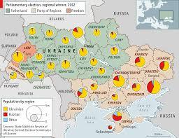 Map Ukraine The February Revolution