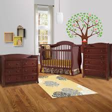 Baby Bedroom Furniture Storkcraft 3 Piece Nursery Set Valentia Convertible Crib Avalon